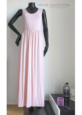 Robe stappy rose pale