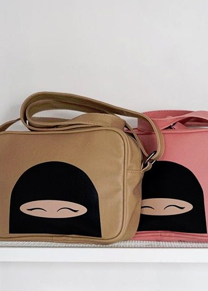 "sac camel collection ""Niqabie"""