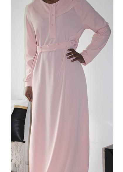 Robe Rym Rose pale