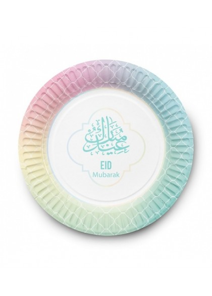 Assiettes collection pastel