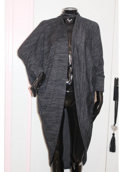 Gilet winter chiné manches 3/4
